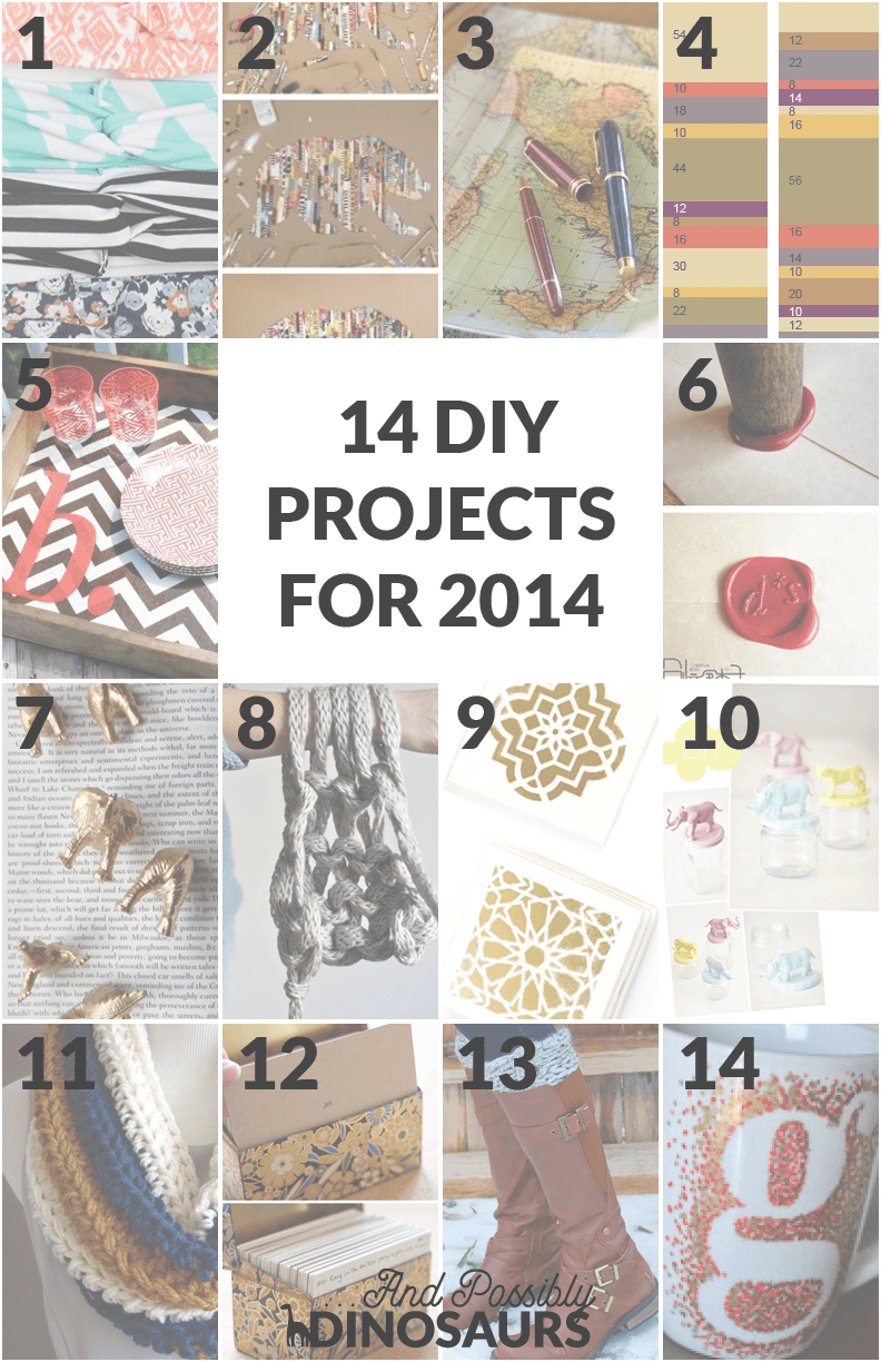 14 DIY Projects in 2014