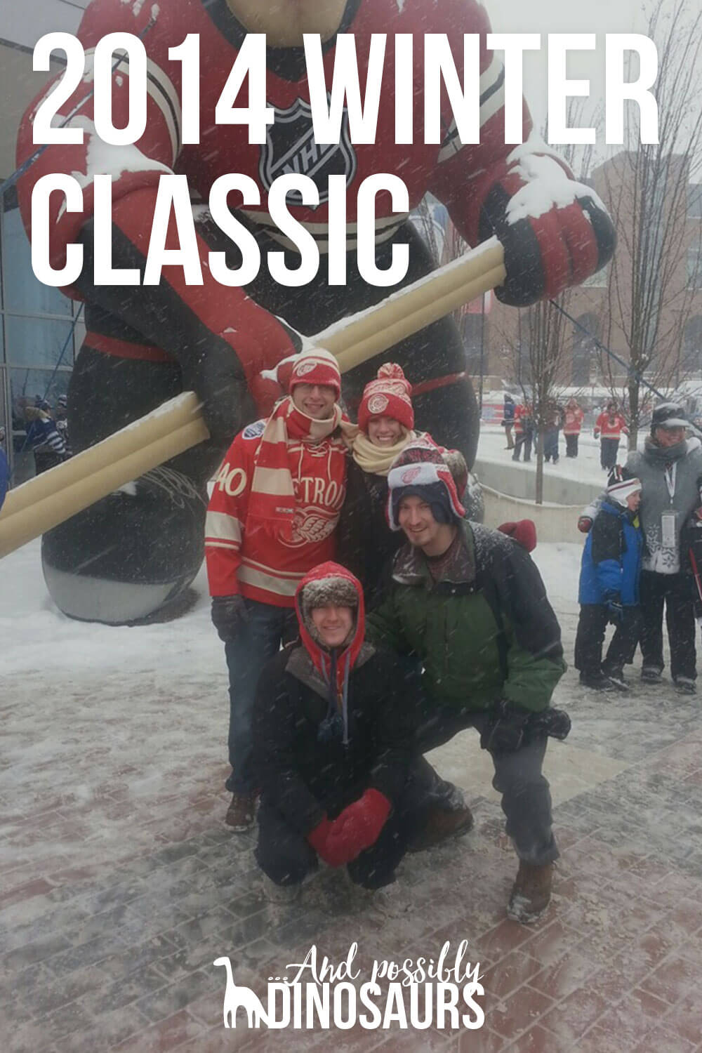 The 2014 Winter Classic was an experience of a lifetime for hockey fans. Click through to find out what it was like!
