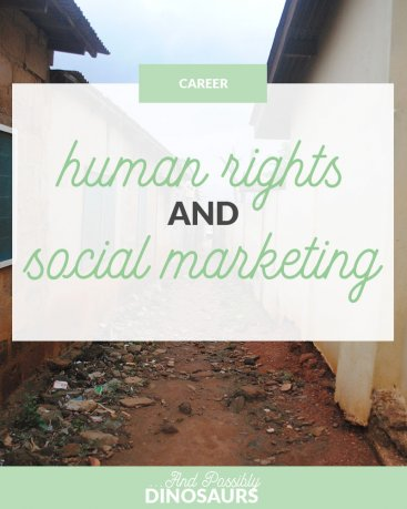 """Human Rights and Social Marketing"" is locked Human Rights and Social Marketing"