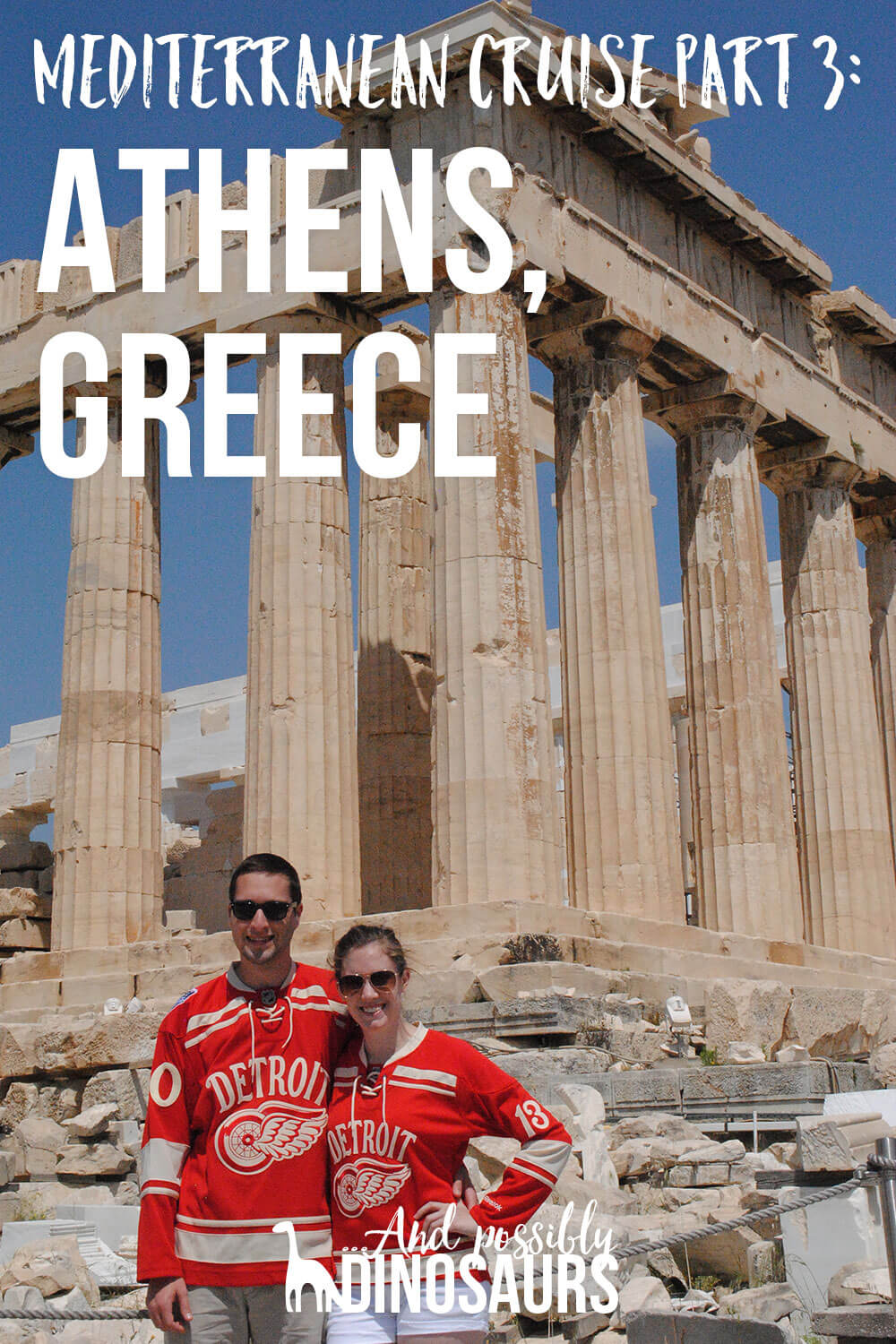 If you visit Athens, Greece, make sure to go in the off-season. Click through to find out why!