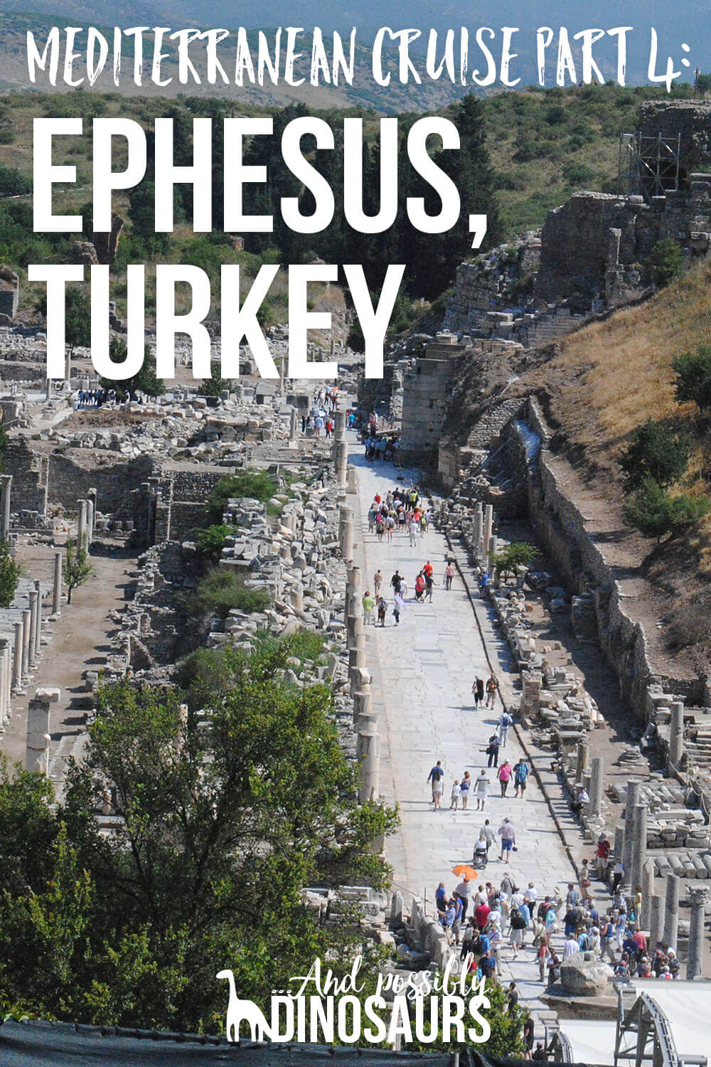 If you go on a Mediterranean cruise, make sure that Ephesus, Turkey is one of your ports — you won't want to miss it! Click through to find out what it's like!