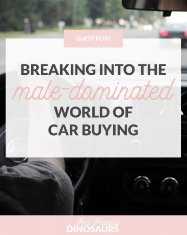 Breaking into the Male-Dominated World of Car Buying