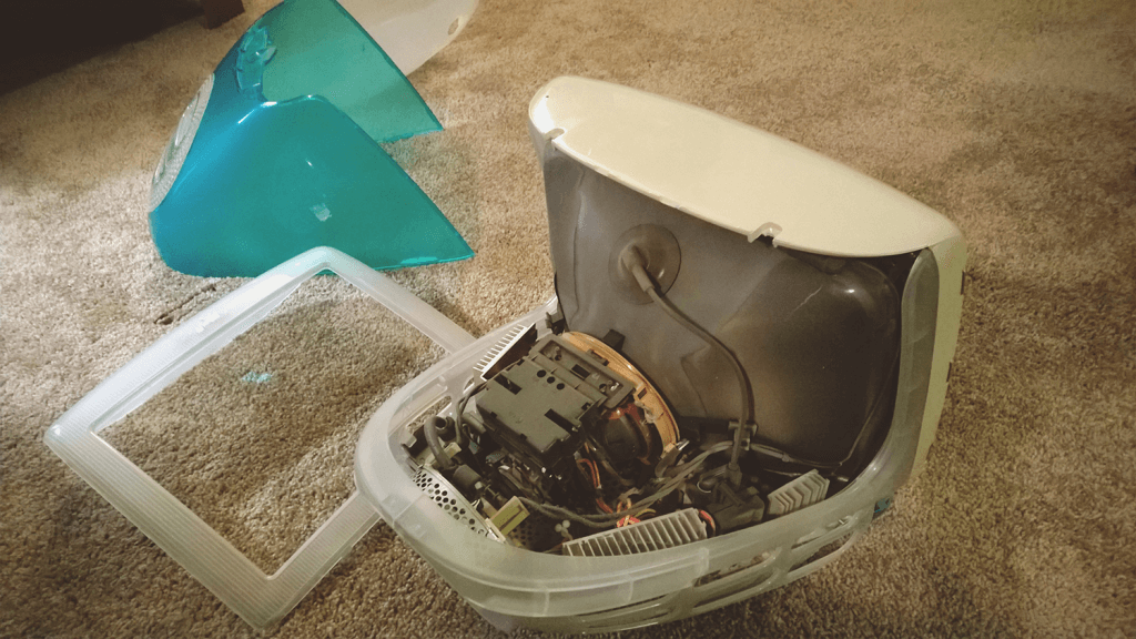 How to build an iMac cat bed