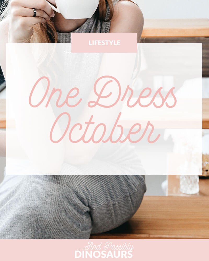 One Dress October