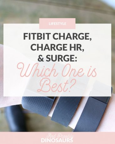 Fitbit Charge, Charge HR, and Surge: Which one is best?