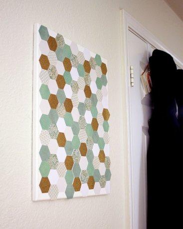 Easy Hexagon Art