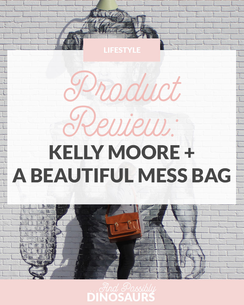 Product Review: Kelly Moore + A Beautiful Mess Bag