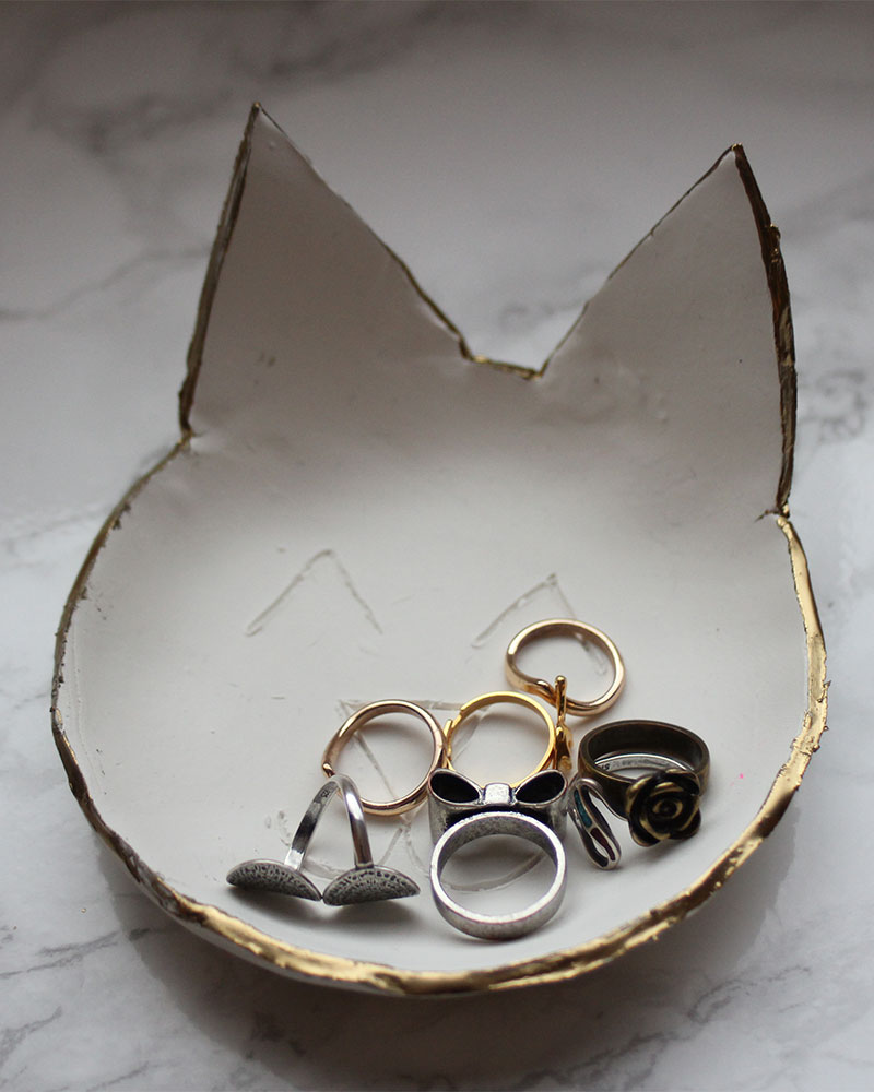 DIY Clay Catchall Dishes