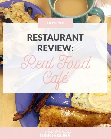 Restaurant Review: Real Food Café