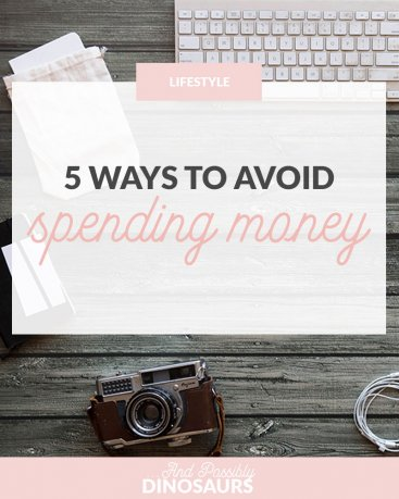 5 Ways to Avoid Spending Money