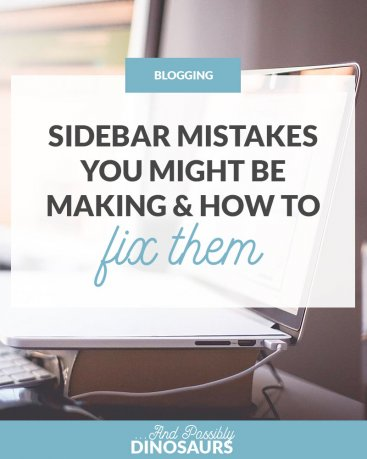 Sidebar Mistakes You Might Be Making & How to Fix Them