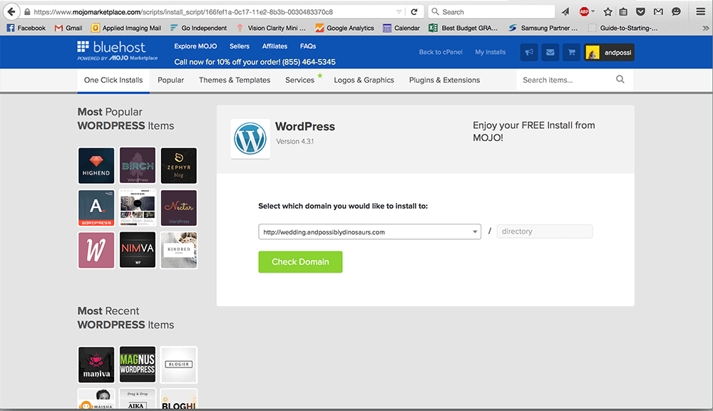 Not sure how to install WordPress? It's really easy to do on a self-hosted website! Here's how to install WordPress on Bluehost. (Spoiler: it's super quick and easy!)