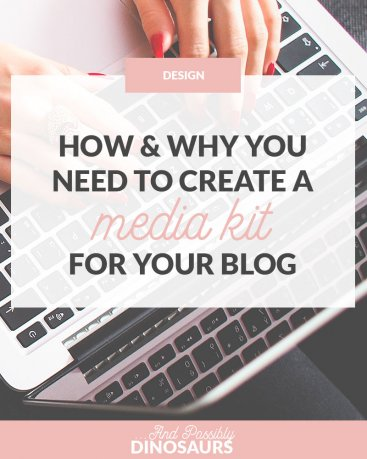 So, you've heard you should have a media kit for your blog. But what the heck do you put into it? Click through for a full rundown of what to include in a blog's media kit and get a FREE media kit template!