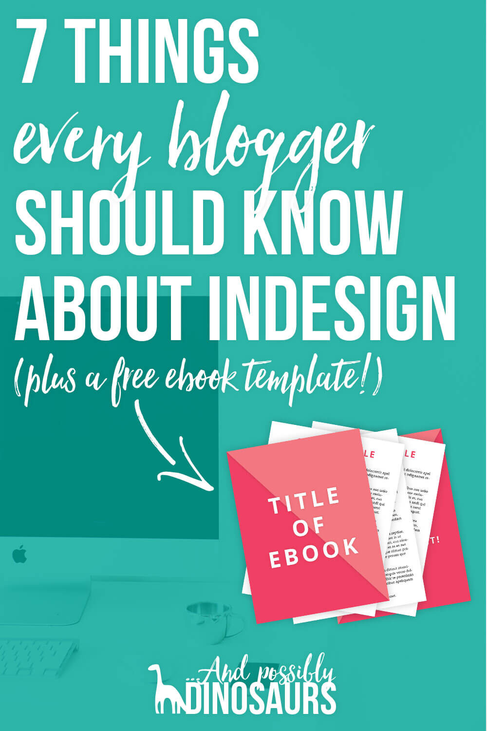 A sister program to Photoshop, Adobe InDesign is an amazing tool for bloggers and business owners. It can be used for a ton of different things: content upgrades, ebooks, image templates, and more! So, why isn't anyone talking about it? And what all do you need to know about InDesign as a blogger or business owner? Click through to find out!