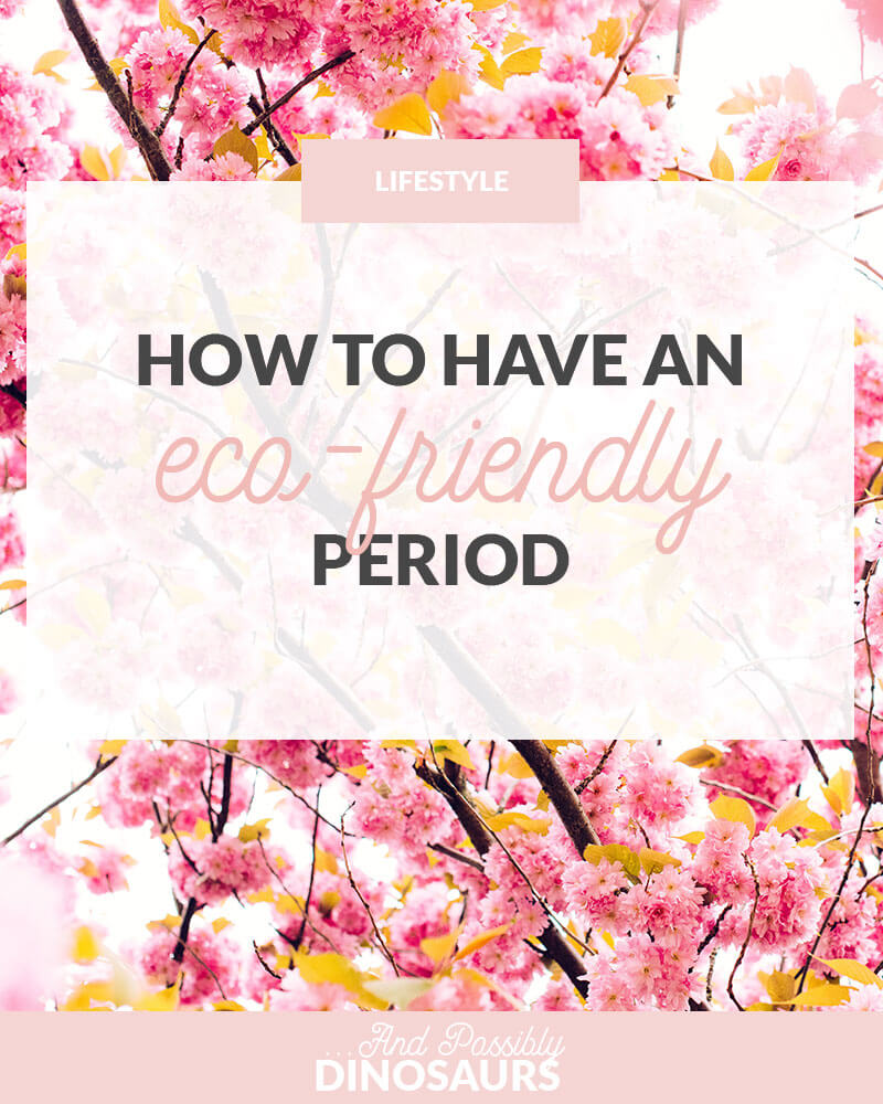 Let's face it: periods aren't fun. But you know what's worse than a week of pain and suffering? The impact it can have on the environment. Click through to find out how you can have an eco-friendly period!