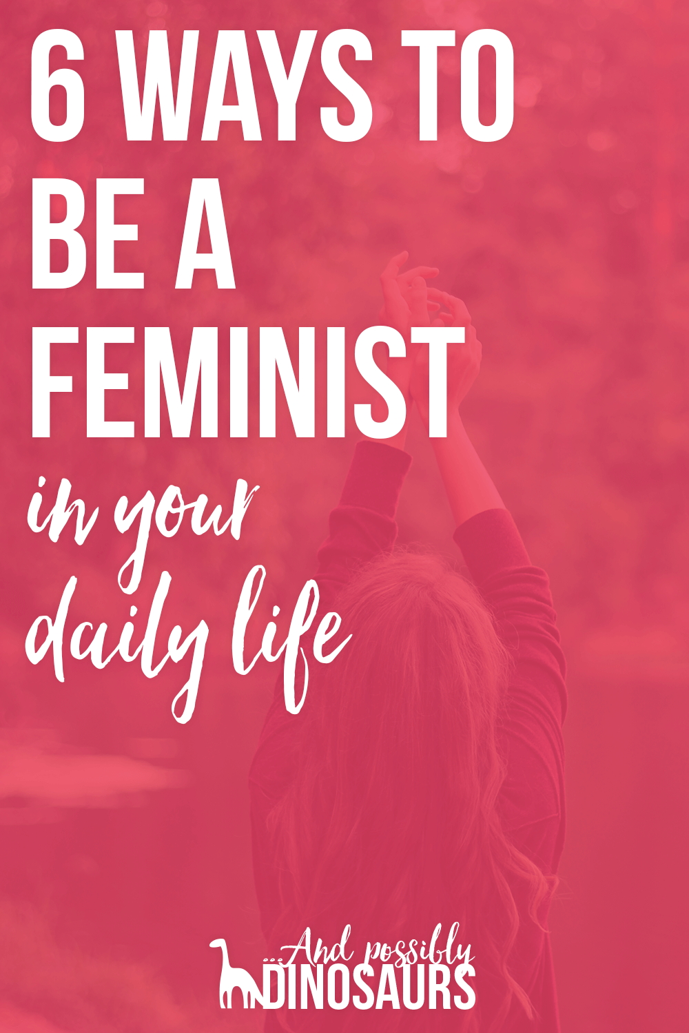 Being a feminist is really important, but it can be really hard. When do you speak up? How do you learn more? Check out this list of six ways to be a feminist in your daily life to find out!