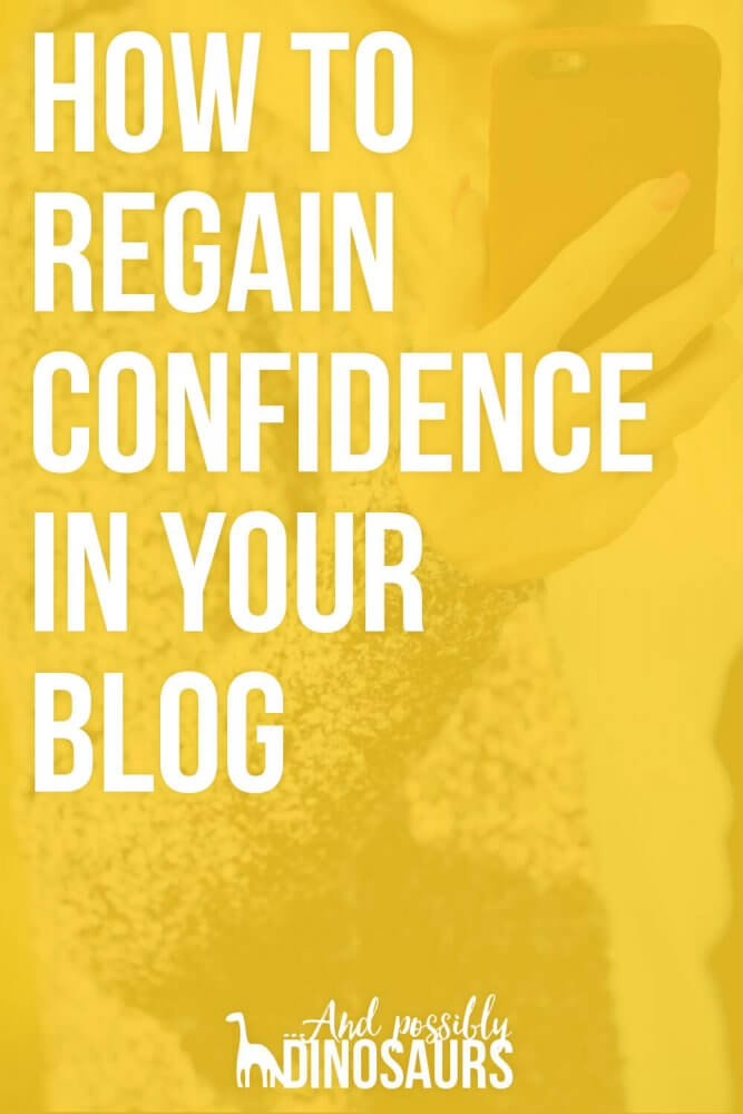 Blogging is an amazing hobby, but it's really easy to get overwhelmed and lose interest. So, what can you do to regain confidence in your blog? Check out my 7 tips, with real-life examples of how I overcame blogger burnout!