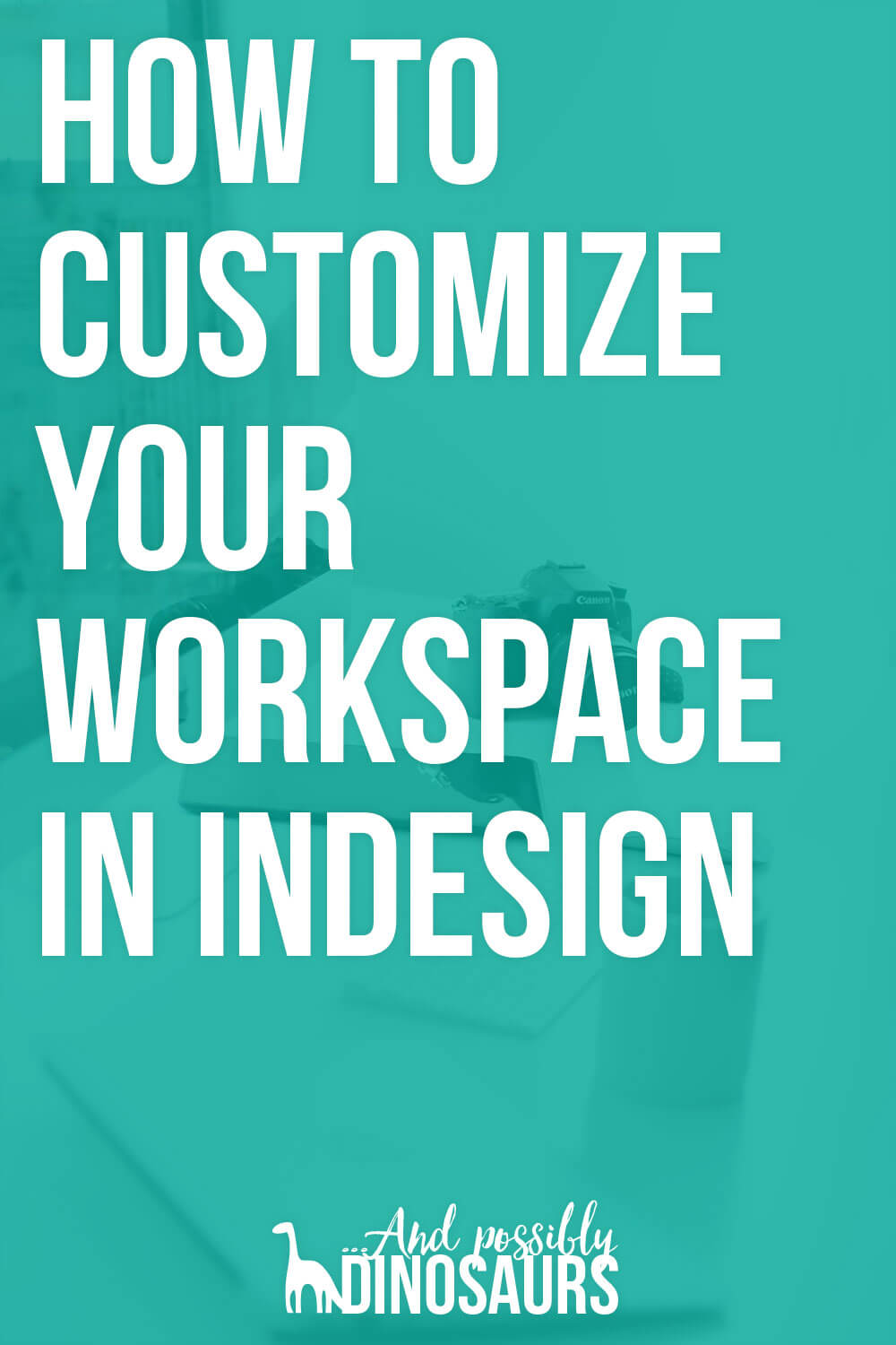Are you constantly scrambling around InDesign trying to find the right tools? You should set up a custom workspace in InDesign! You can save all of your sidebar controls, fonts, and swatches so they're all ready for you when you open up the program. Click through for the tutorial!