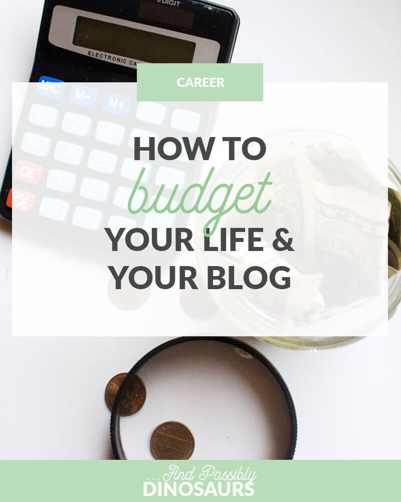 Budgeting. Necessary, but tedious. So, what's the best way to budget your life while blogging? Click through for a FREE budgeting spreadsheet for life and your blog!