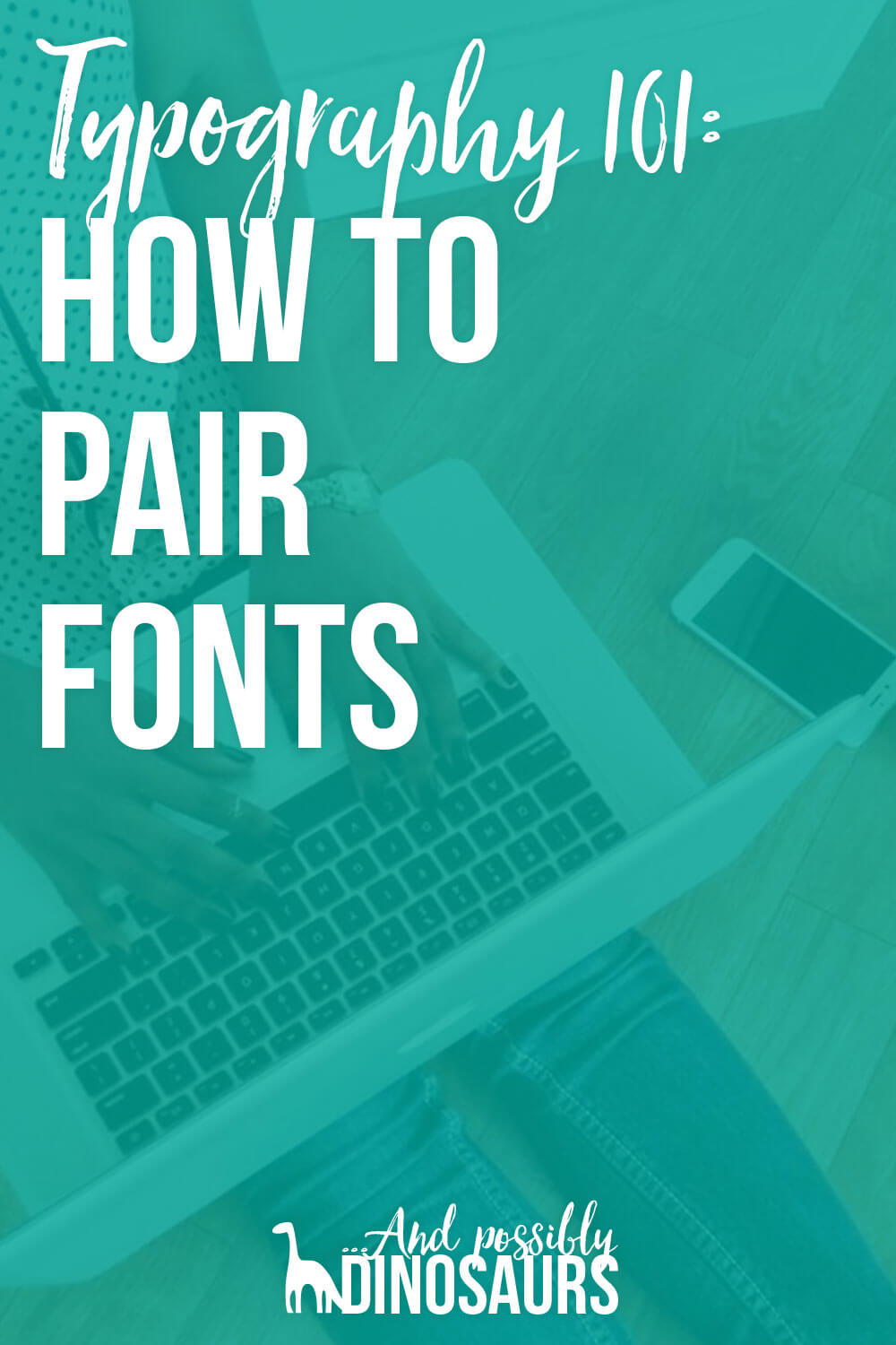 Choosing fonts is one of the hardest parts of design, but it doesn't have to be intimidating! Click through for a basic overview of fonts, font types, and what to look for when choosing fonts for your brand!