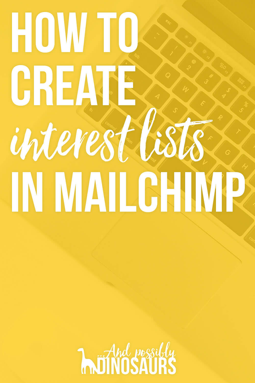 People love being able to set up interest lists in ConvertKit. But it's just as possible to create interest lists in Mailchimp! Here's how to segment your email list by interest.