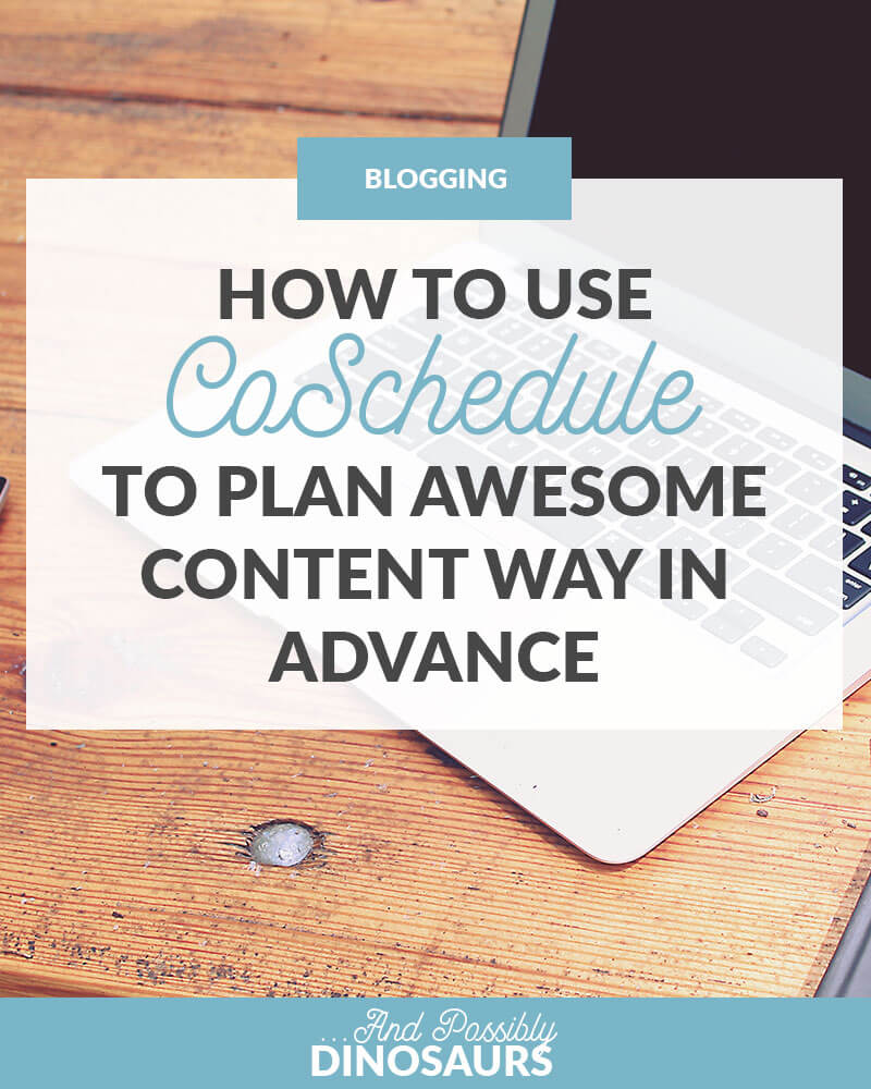 There's nothing worse than sitting down at your computer, knowing you need a blog post for tomorrow, and having no idea what to write about. Luckily, there's a way to avoid this: planning content way in advance with CoSchedule!