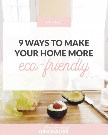 9 Ways to Make Your Home More Eco-Friendly
