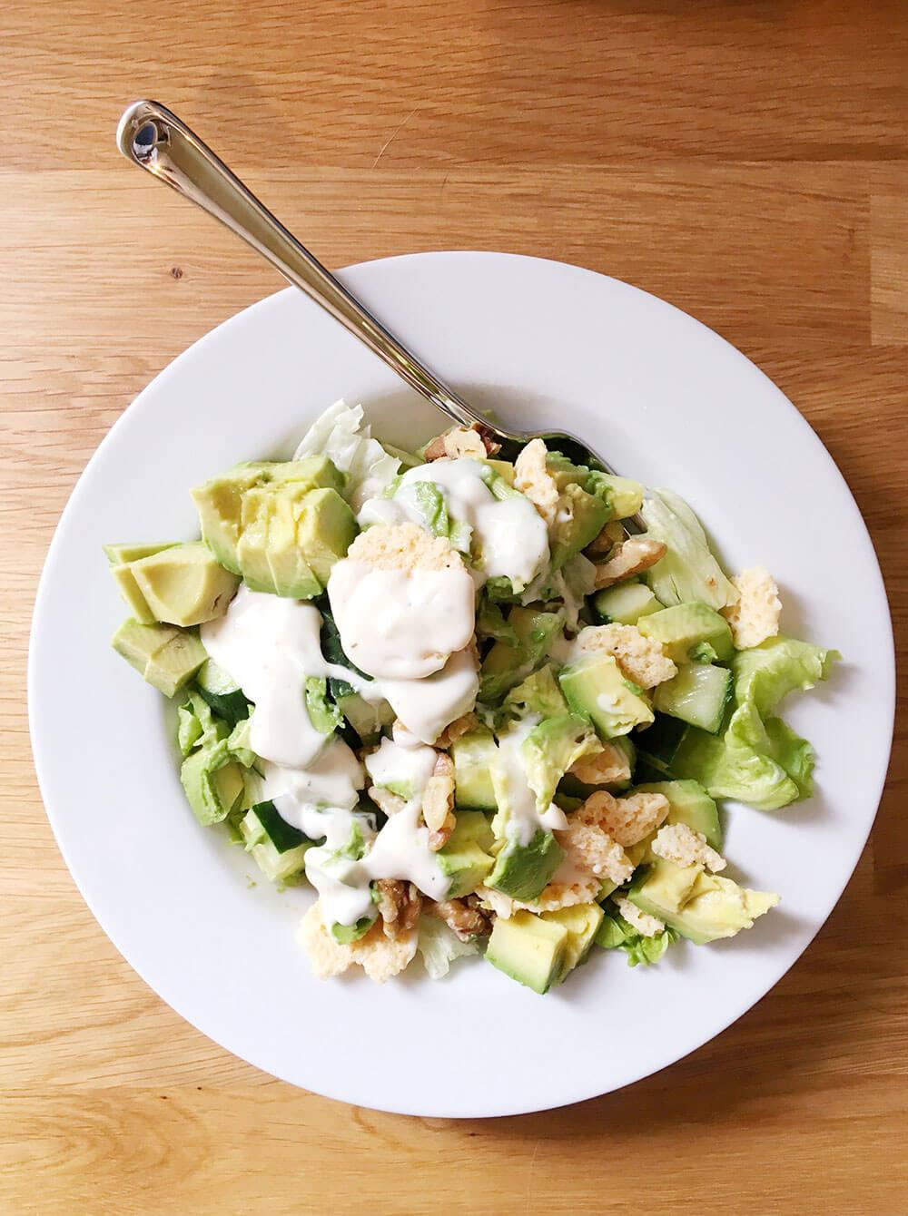 Eco-Friendly Salad