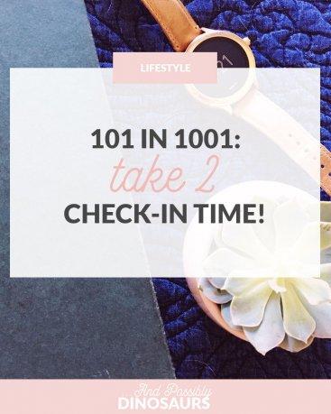 101 in 1001, Take 2: Check-In Time!