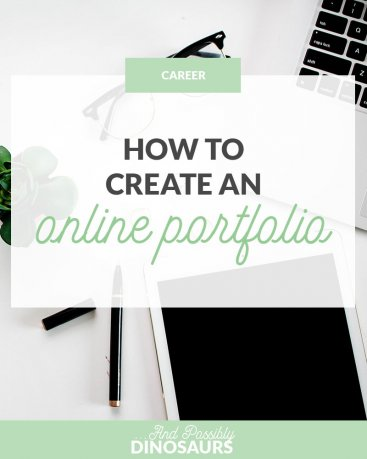 How to Create an Online Portfolio