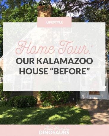 "Home Tour: Our Kalamazoo House ""Before"""
