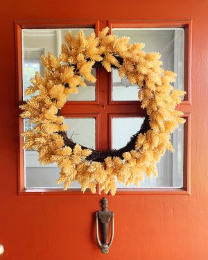 The Perfect Fall Wreath