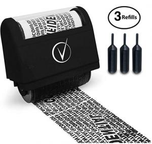 Identity Theft Roller Stamp*
